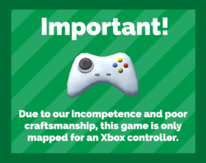 "Image for ""This game requires an Xbox controller"""